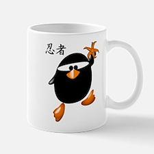 Ninja Penguin Mug