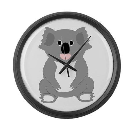 Koala Bear Design Large Wall Clock