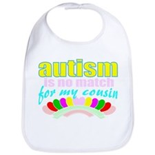 I love someone with autism 3 Bib