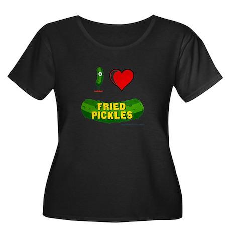 Transp-Iheartfriedpickles Plus Size T-Shirt