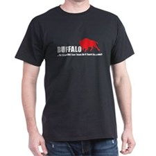 4 Years in Buffalo Black T-Shirt