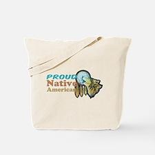 Proud Native American Tote Bag