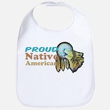 Proud Native American Bib