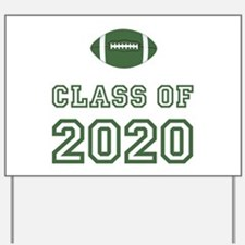 Class Of 2020 Football Yard Sign