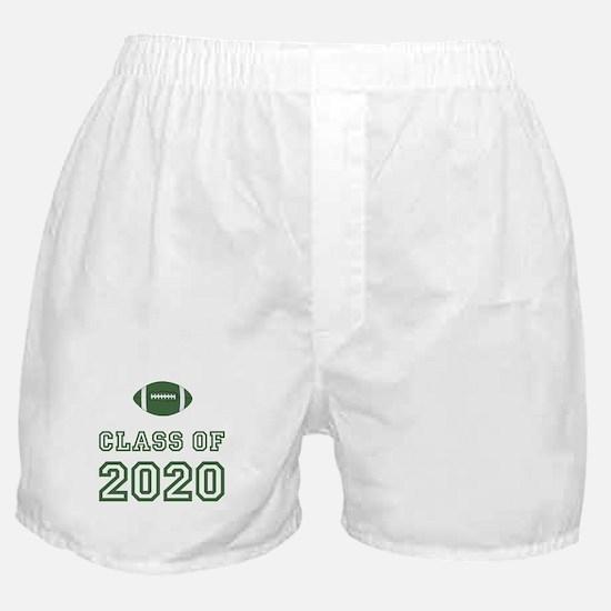 Class Of 2020 Football Boxer Shorts