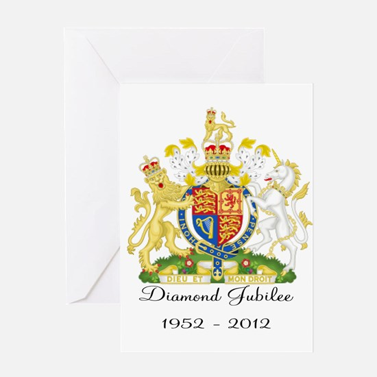 Diamond Jubilee Design Greeting Card