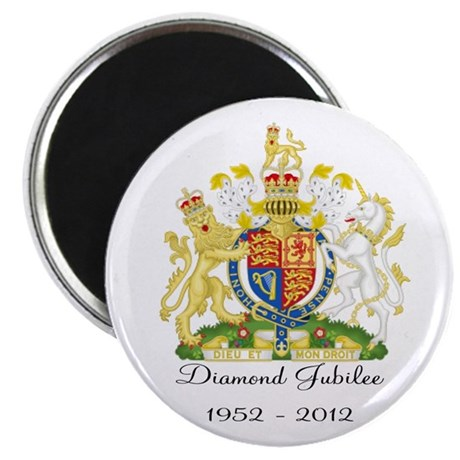 Diamond Jubilee Design Magnet
