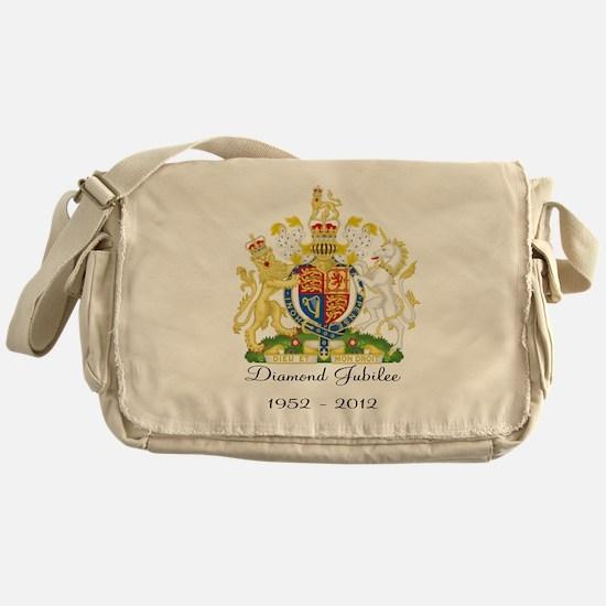 Diamond Jubilee Design Messenger Bag