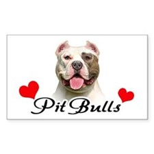 Love Pit Bulls Decal