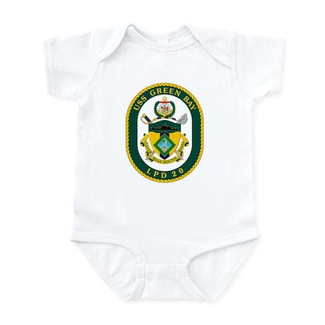 USS Green Bay LPD 20 Infant Bodysuit