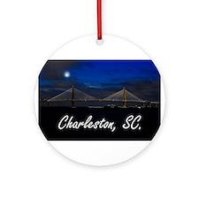 Charleston, SC. Ornament (Round)