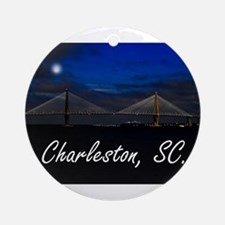 Charleston, SC. Ornament (Round)