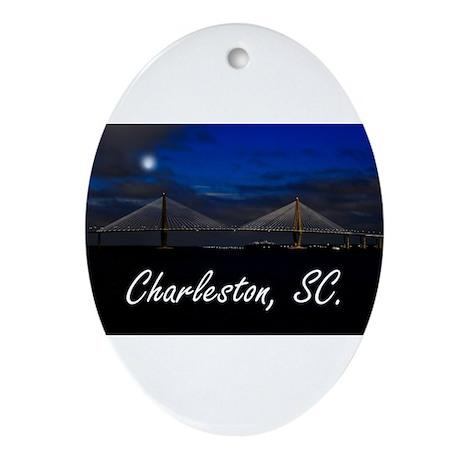 Charleston, SC. Ornament (Oval)