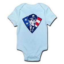policeman Infant Bodysuit