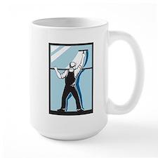 window washer cleaner Mug