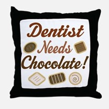 Dentist Gift Funny Throw Pillow