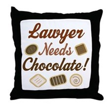Lawyer Gift Funny Throw Pillow