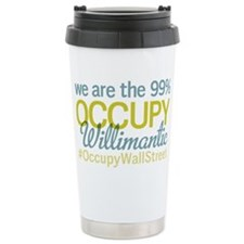 Occupy Willimantic Travel Mug