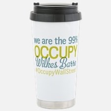 Occupy Wilkes Barre Stainless Steel Travel Mug