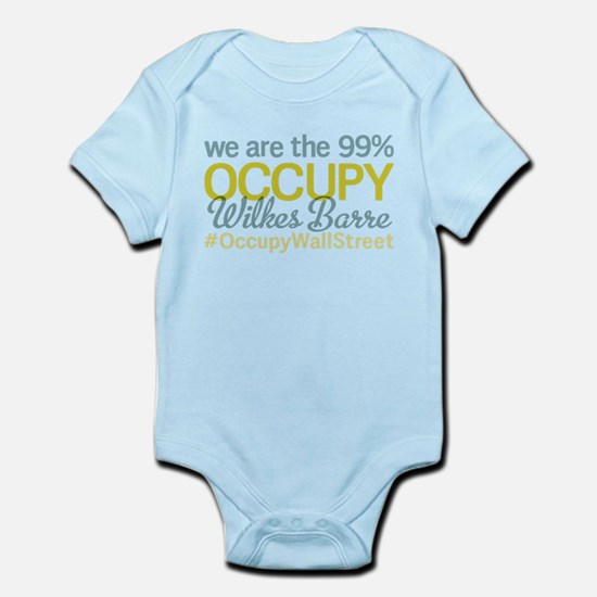 Occupy Wilkes Barre Infant Bodysuit