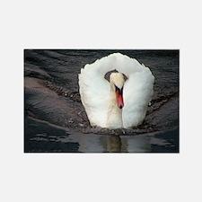Swan #2 - Rectangle Magnet
