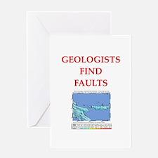 funny geology jokes Greeting Card