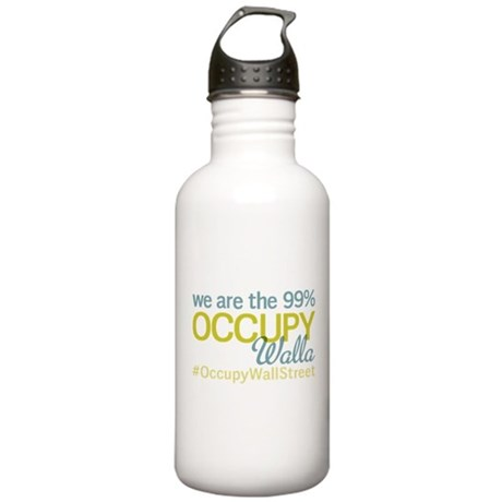 Occupy Walla Walla Stainless Water Bottle 1.0L