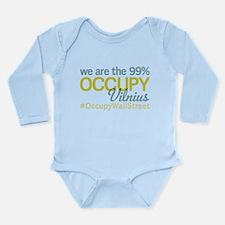 Occupy Vilnius Long Sleeve Infant Bodysuit