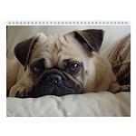 "PugVillage 2013 - Pug Wall Calendar ""B"""