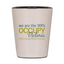 Occupy Victoria Shot Glass