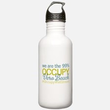 Occupy Vero Beach Water Bottle
