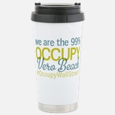 Occupy Vero Beach Stainless Steel Travel Mug