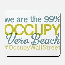 Occupy Vero Beach Mousepad
