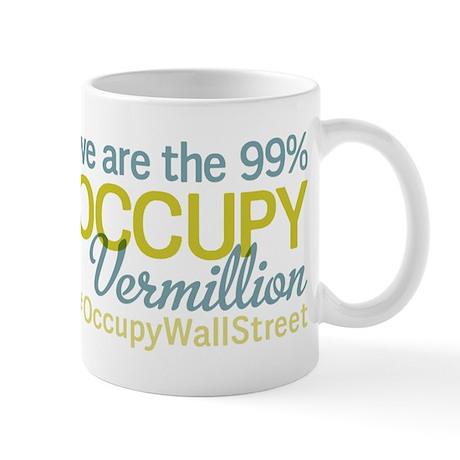 Occupy Vermillion Mug