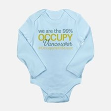 Occupy Vancouver Long Sleeve Infant Bodysuit