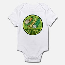 Vegetarian Grunge Infant Bodysuit