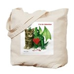 V is for Valentine Tote Bag