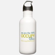 Occupy Utica Water Bottle