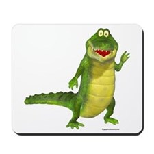 Salty the Crocodile Mousepad