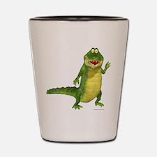 Salty the Crocodile Shot Glass