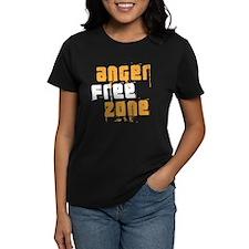 anger free zone Women's Dark T-Shirt