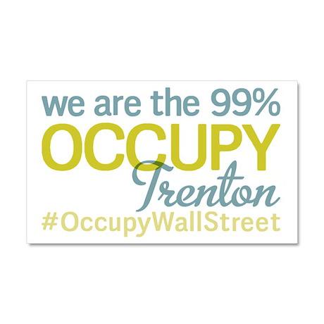 Occupy Trenton Car Magnet 20 x 12