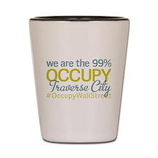 Occupy Traverse City Shot Glass
