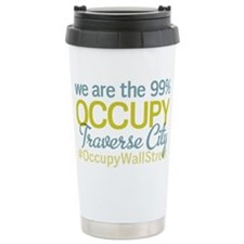 Occupy Traverse City Travel Coffee Mug
