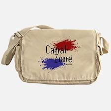 Stylized Panama Canal Zone Messenger Bag