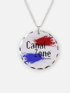 Stylized Panama Canal Zone Necklace