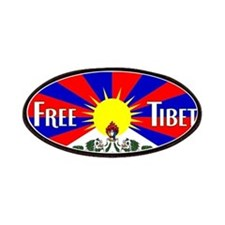Free Tibet - Human Rights Patches
