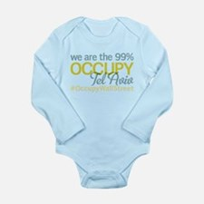 Occupy Tel Aviv Long Sleeve Infant Bodysuit