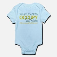 Occupy Tel Aviv Infant Bodysuit