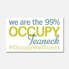 Occupy Teaneck Car Magnet 20 x 12